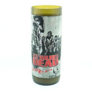 The Walking Dead Wine Candle