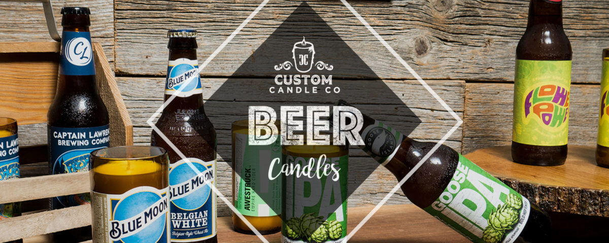 Father's Day Beer Candle Banner