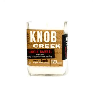 Knob Creek Single Barrel Whiskey Candle