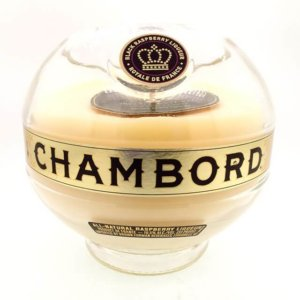 Chambord Liqueur Candle