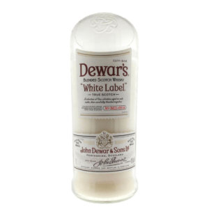 Dewers White Whiskey Candle