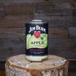 Jim Beam Apple Bourbon Whiskey Candle