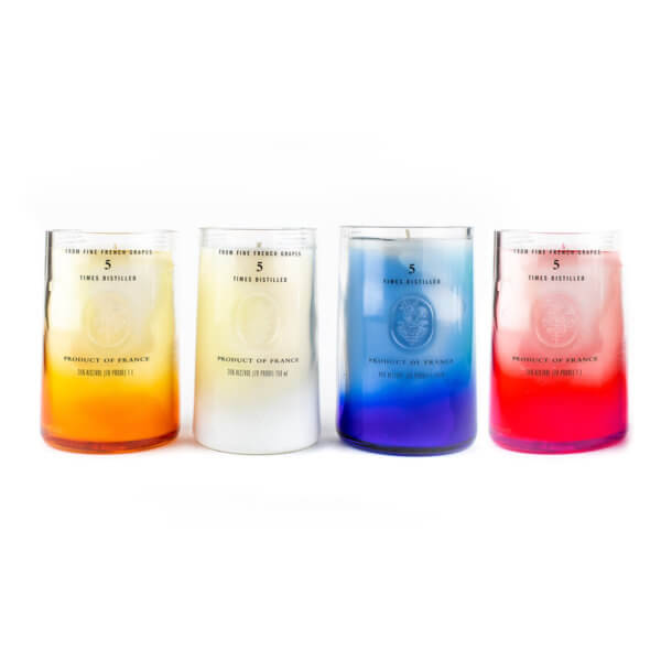 Multi-color Vodka Candles