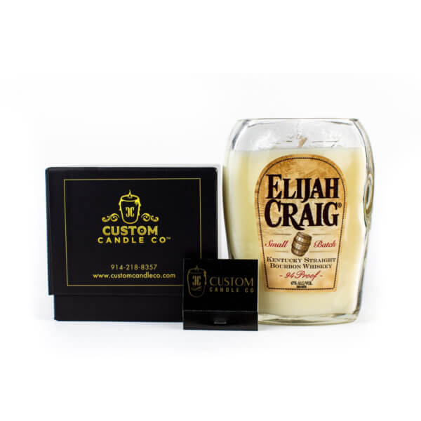 Elijah Craig Bourbon Whiskey Candle