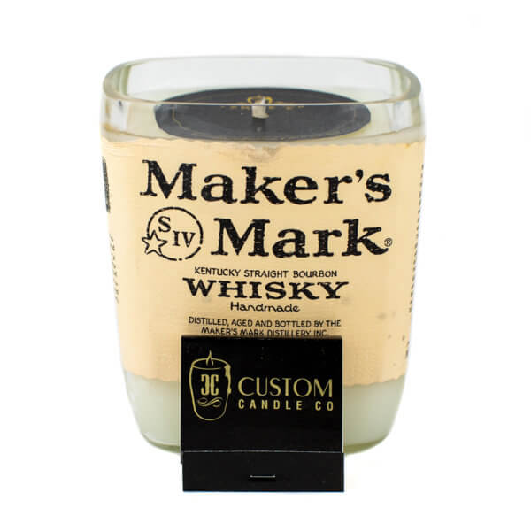 Makers Mark Whiskey Candle
