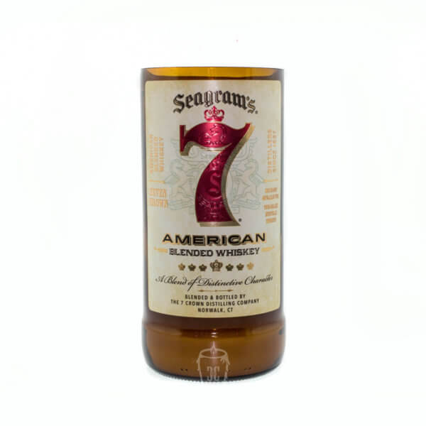Seagrams 7 Whiskey Candle