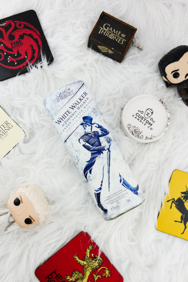 Game of Thrones – White Walker by Johnnie Walker Candle