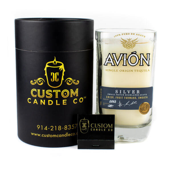 Avion Silver Tequila Candle