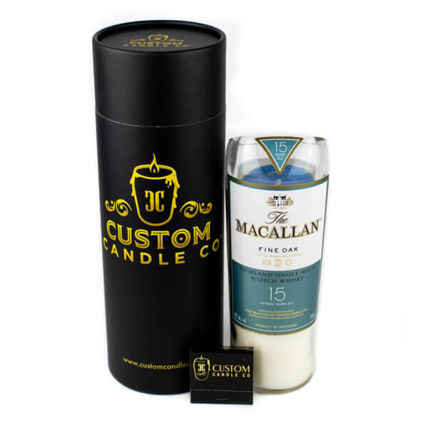 Macallan Fine Oak Scotch Whiskey Candle