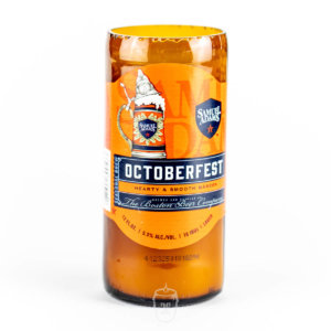 Sam Adams Octoberfest Beer Candle