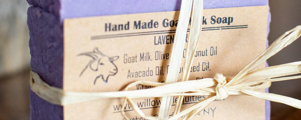 Goat's Milk Lavender Soap