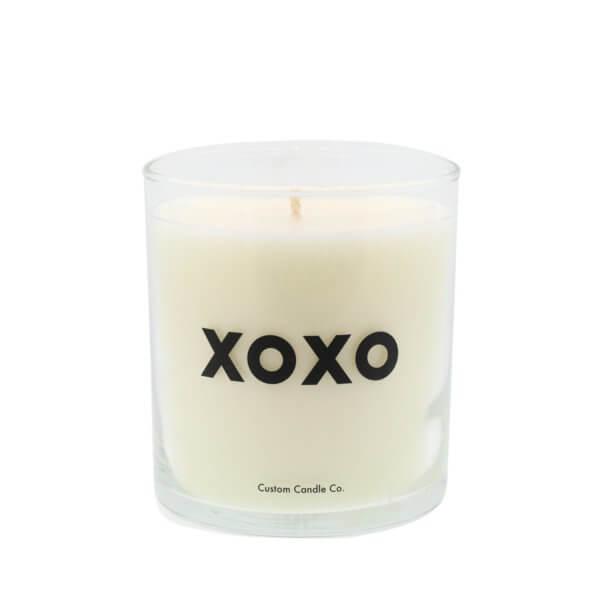 XOXO Quote Candle
