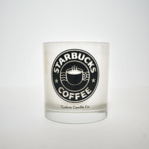 Starbucks Coffee Tumbler Candle Front