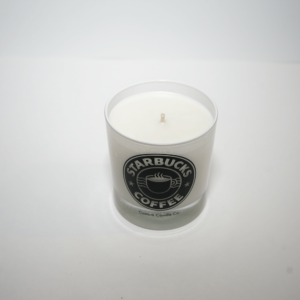 Starbucks Coffee Tumbler Candle Top View