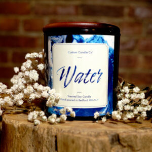 Water: Natural Collection with Brick Background