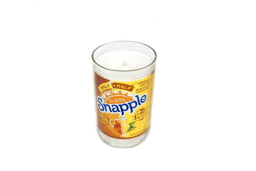 Snapple top view candle