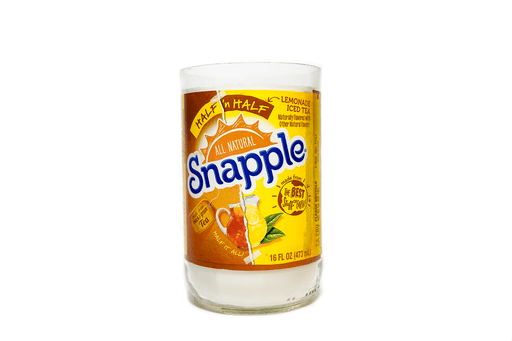 Snapple recycled bottle