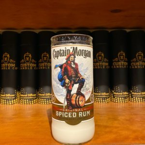 CC- Coconut Bamboo, Captain Morgan 750ml Flat