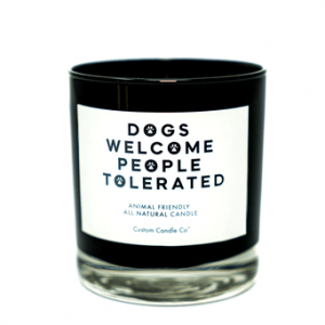 Dog's Welcome/People Tolerated Tumbler