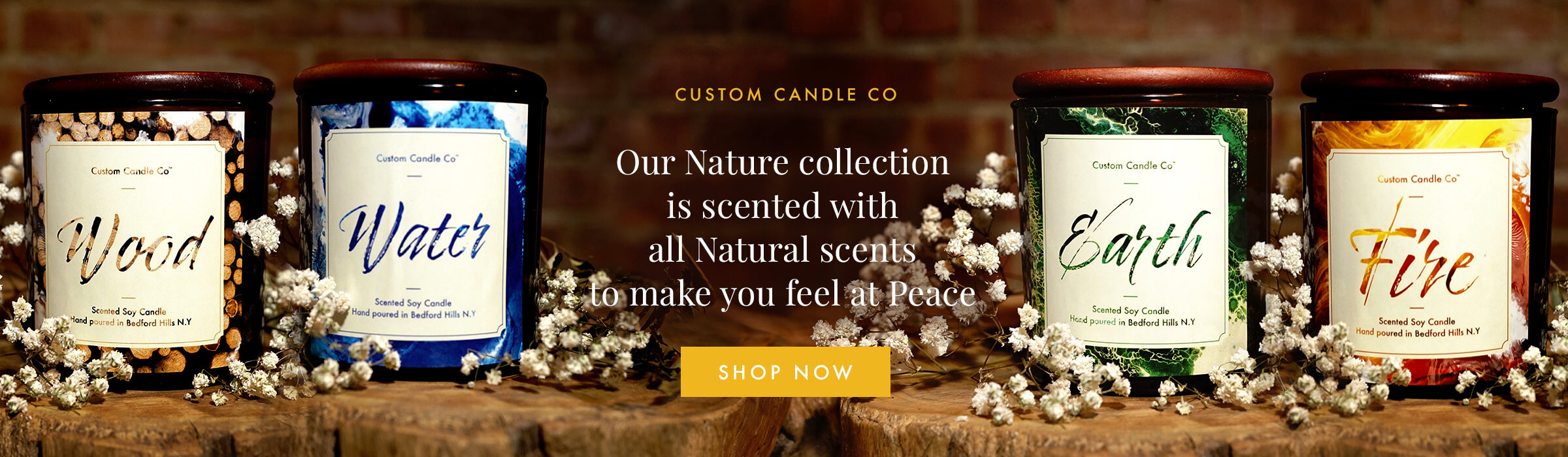 Nature Candle Collection
