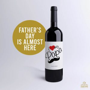 I Love My Papa Cabernet Wine