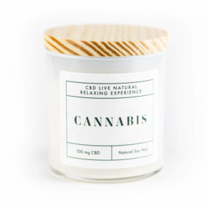 CANNABIS Relaxing Aromatherapy Candle 11oz