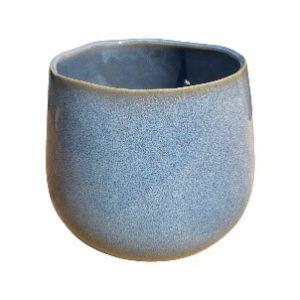 Large Blue Pot