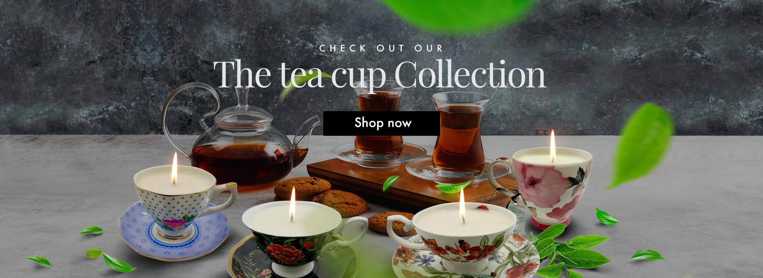 Banner Tea Cup