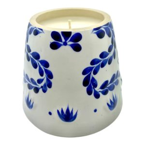 Recycled Azul Tequila Candle
